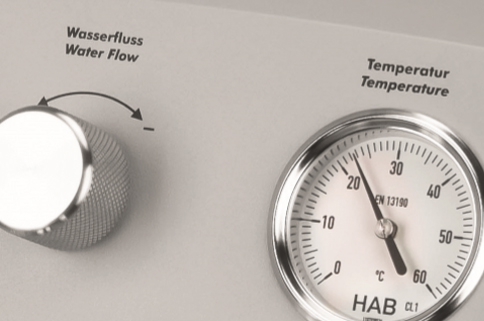 colon hydrotherapy hydromat temperature gauge display