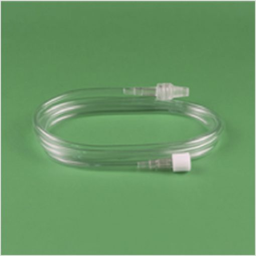 Hperbaric insufflation connecting line