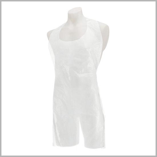 Disposable polythene medical apron