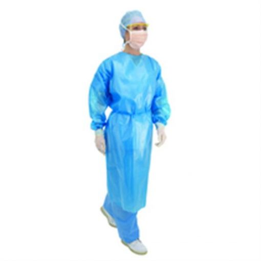 colonic supplies disposable lightweight gown long sleeve