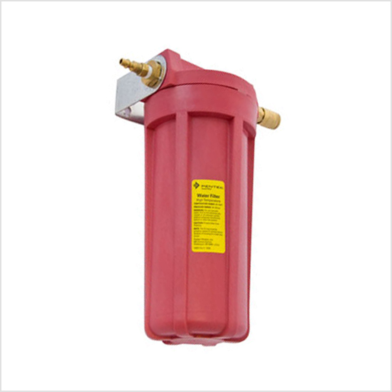 Hot Water - red - Filter Housing