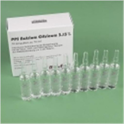 hyperbaric sodium citrate ampoules