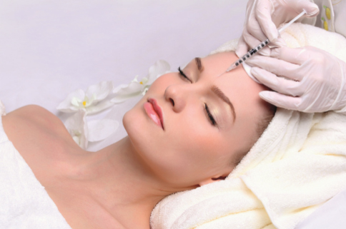 Botox injection in forehead | Anti Ageing Treatment