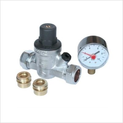 pressure reducing valve complete with gauge
