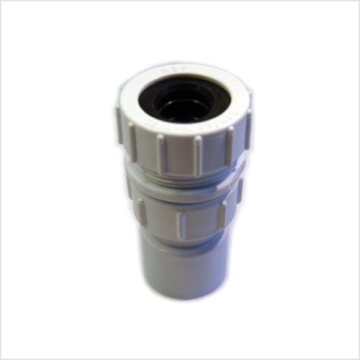 colonic irrigation waste connector 32mm ppc white