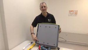 Herrmann colon hydrotherapy machine installation