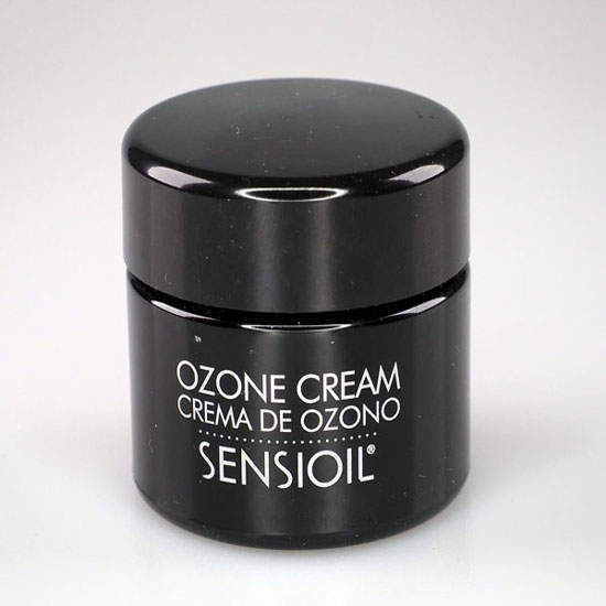 Black tub of Sensioil Ozone Cream