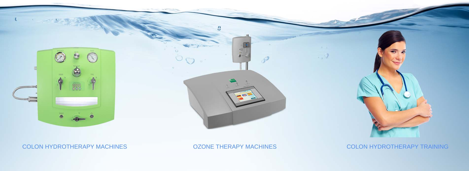 colon hydrotherapy machines training