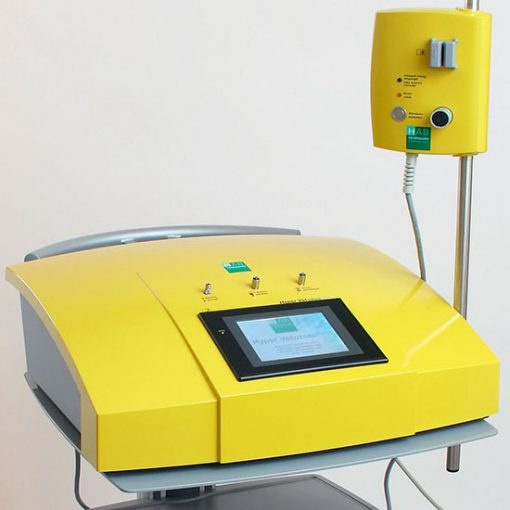 Vetozon comfort ozone therapy machine mounted on trolley