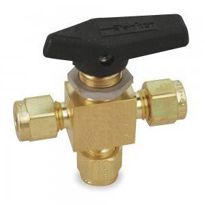 three way brass valve lever operated Dotolo Toxygen