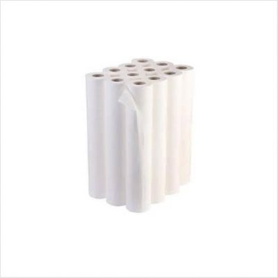 disposable white paper couch roll box of 12