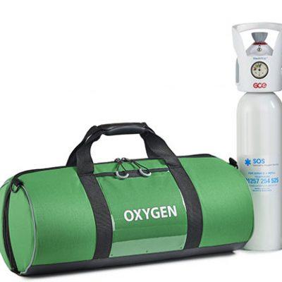 oxygen bag green