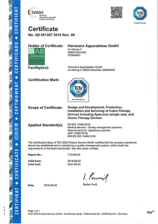 Herrmann-Medical-Device-ISO-Certificate